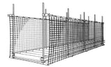 Sinco™ Networks™ Conveyor Guard Net 9 x 50 ft. (2.7 x 15.2 m)