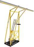 FlexiGuard™ Counterweighted System with 29.5 ft. (9.0m) anchor height and 40 ft. (12.2m) rail