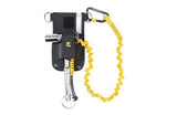 Python Safety™ Scaffold Wrench Holster with Retractor - Belt - with Hook2Loop Bungee Tether