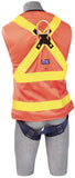 Delta Vest™ Hi-Vis Reflective Workvest Harness (size Small)