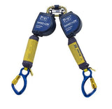 Nano-Lok™ Extended Length Twin-Leg Quick Connect Self Retracting Lifeline - Web 10 ft. (3m) aluminum carabiners