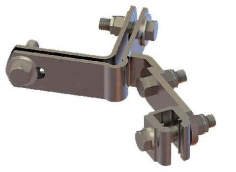 "Railok 90™ Angle Iron Clamp fits 3-5/16"" to 5-1/4"" (8.4 to 13.3 cm)"