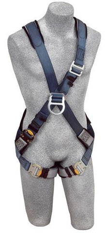 ExoFit™ Cross-Over Style Climbing Harness (size Large) - Barry Cordage
