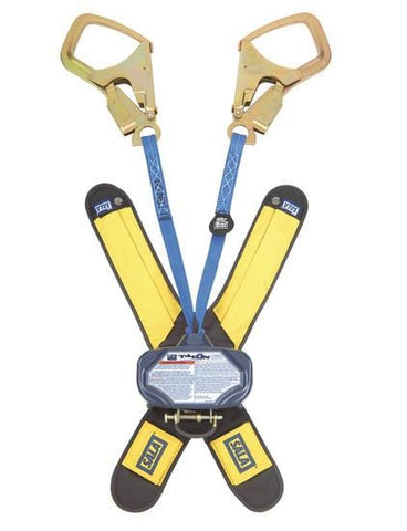 Talon™ Twin-Leg Quick Connect Self Retracting Lifeline - Web 6 ft. (1.8m) Saflok-Max™ steel rebar hooks