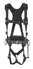 ExoFit NEX™ Lineman Vest-Style Harness with 2D Belt (size Large) - Barry Cordage