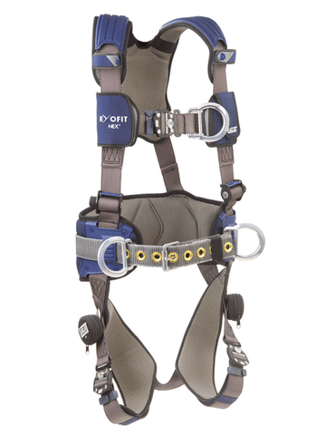 ExoFit NEX™ Construction Style Positioning/Climbing Harness (size X-Large) - Barry Cordage