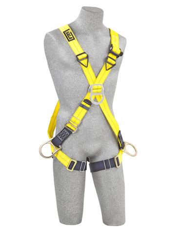 Delta™ Cross-Over Style Positioning/Climbing Harness  (size Universal). - Barry Cordage