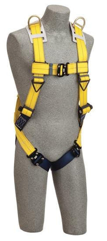 Delta™ Vest-Style Retrieval Harness quick connect buckle leg straps (size X-Large) - Barry Cordage
