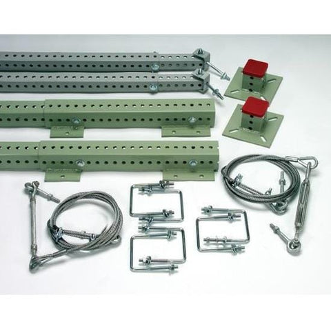 Sinco™ Networks™ Rack Guard Extension Starter Kit - Flush