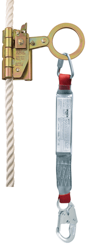 Cobra™ Mobile/Manual Rope Grab with Lanyard - Barry Cordage