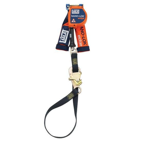 Nano-Lok™ Edge Tie-Back Quick Connect Self Retracting Lifeline 9 ft. (2.7m) - Cable - Barry Cordage