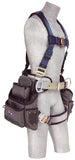 ExoFit™ Construction Style Harness with Tool Pouches (size Large)