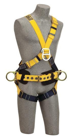 Delta™ Cross-Over Construction Style Climbing Harness (size Small) - Barry Cordage