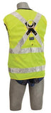 Delta Vest™ Hi-Vis Reflective Workvest Harness - Yellow (size X-large)