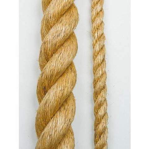 20 mm (3/4 in) Manilla Rope, 100 ft - Barry Cordage