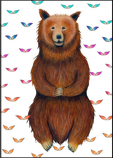 Bear Birthday Card    12-02