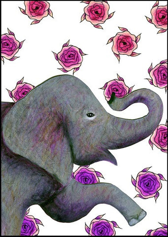 Big Elephant Thank You Card    12-05