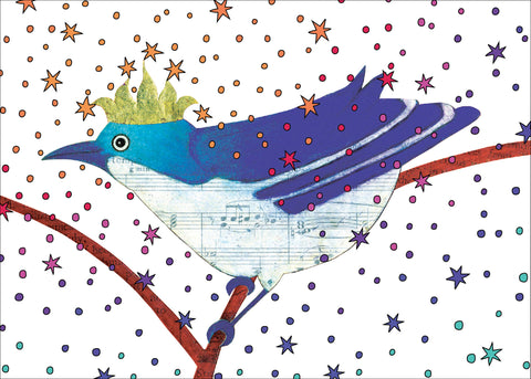 Birthday Bird Birthday Card    14-11