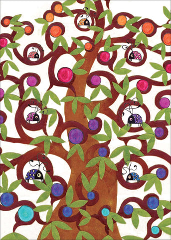 Birthday Tree Birthday Card    14-06