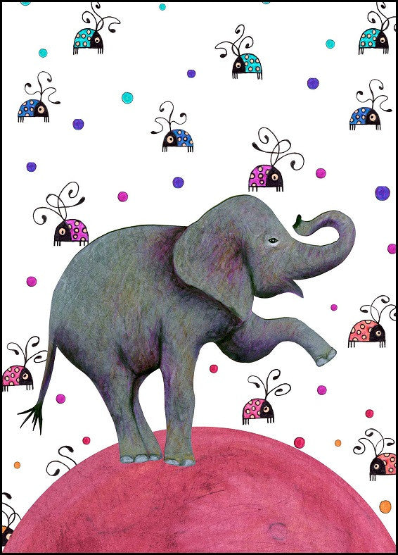 Elephant Birthday Card 12 04 Totem Cards And Gifts