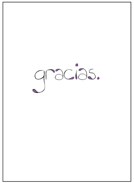 Gracias Thank You Card    12-11