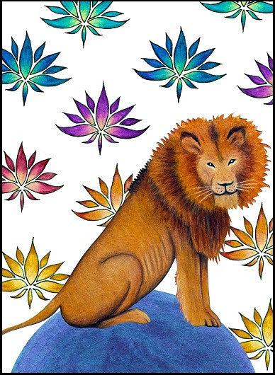 Lion Congratulations Card    12-03