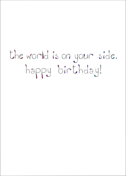 On Your Side Birthday Card    14-03