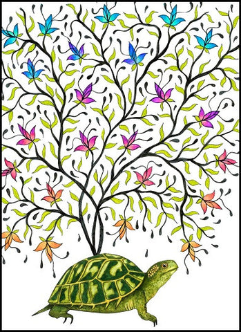 Turtle Birthday Card    12-08