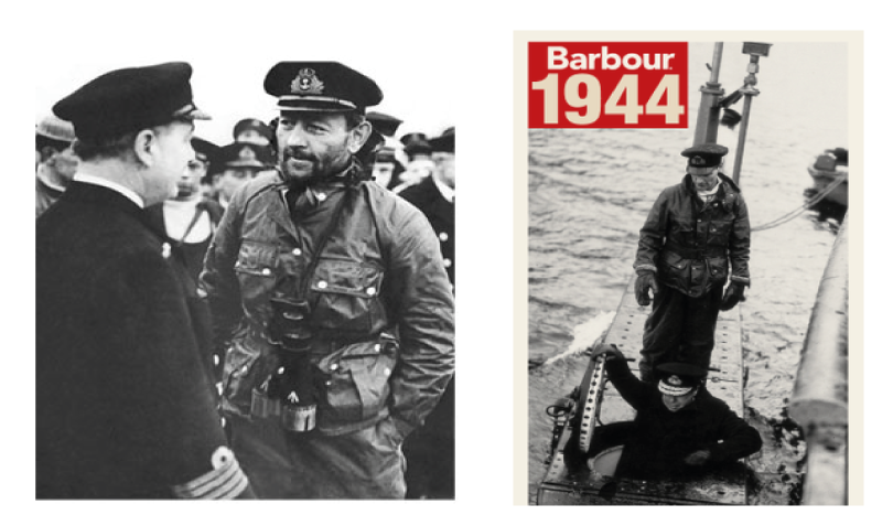 Barbour History Military