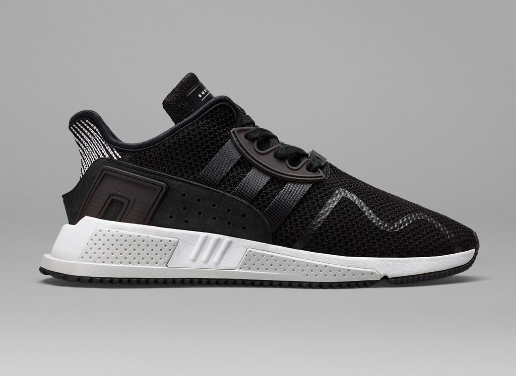 brand new ca0f4 cc2eb For AW17, adidas Originals has unveiled the latest addition to its EQT  story the EQT Cushion ADV in monochrome.