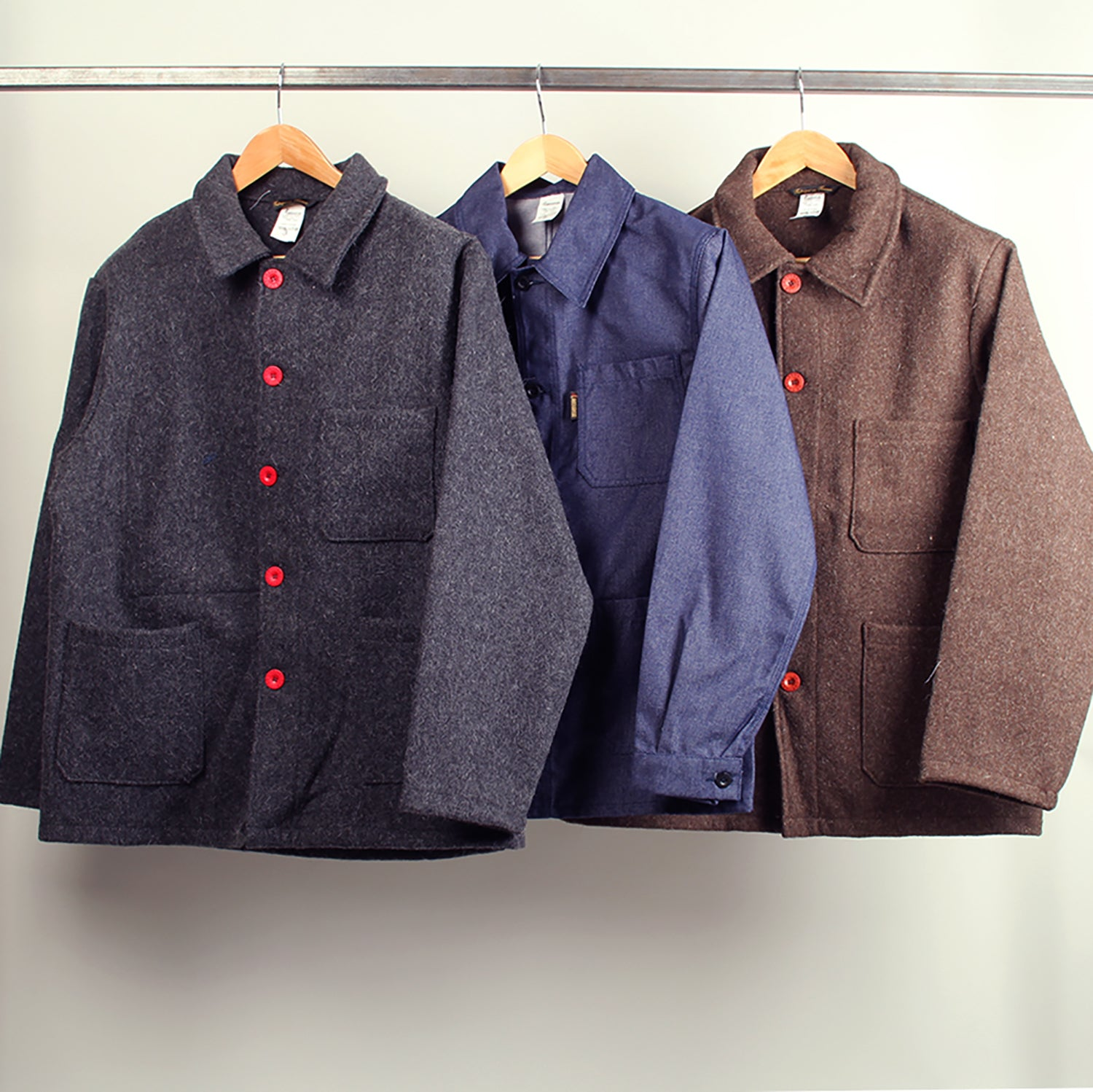 Le Laboureur Wool Jacket