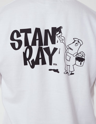 Stan Ray Stan Logo Sweatshirt - White
