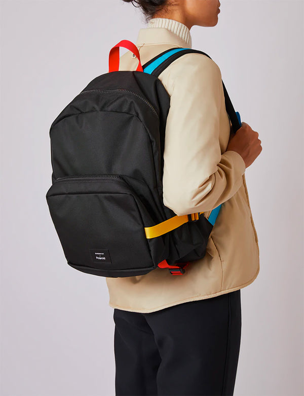 Sandqvist x Polaroid London Backpack - Black
