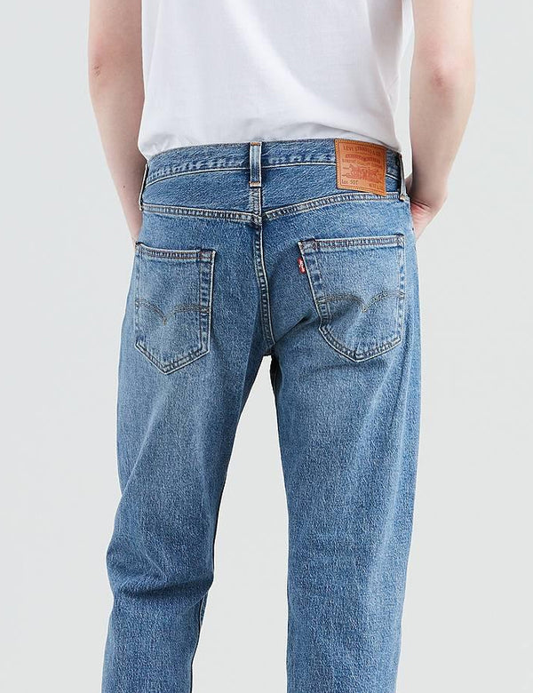 Levis 501 Original Fit Jeans (Straight Leg) - Baywater/Medium Blue