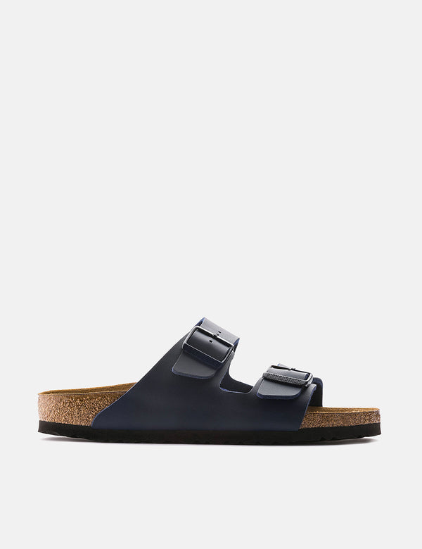 Birkenstock Arizona Sandals (Regular, Birko-Flor) - Blue