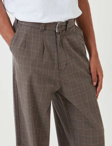 Dickies Artemus Pant (Pleated) - Dark Brown