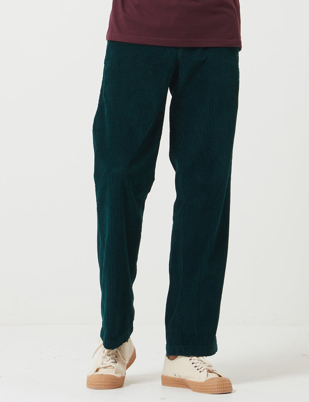 Dickies Cloverport Cord Pant (Cord) - Forest Green | URBAN EXCESS.