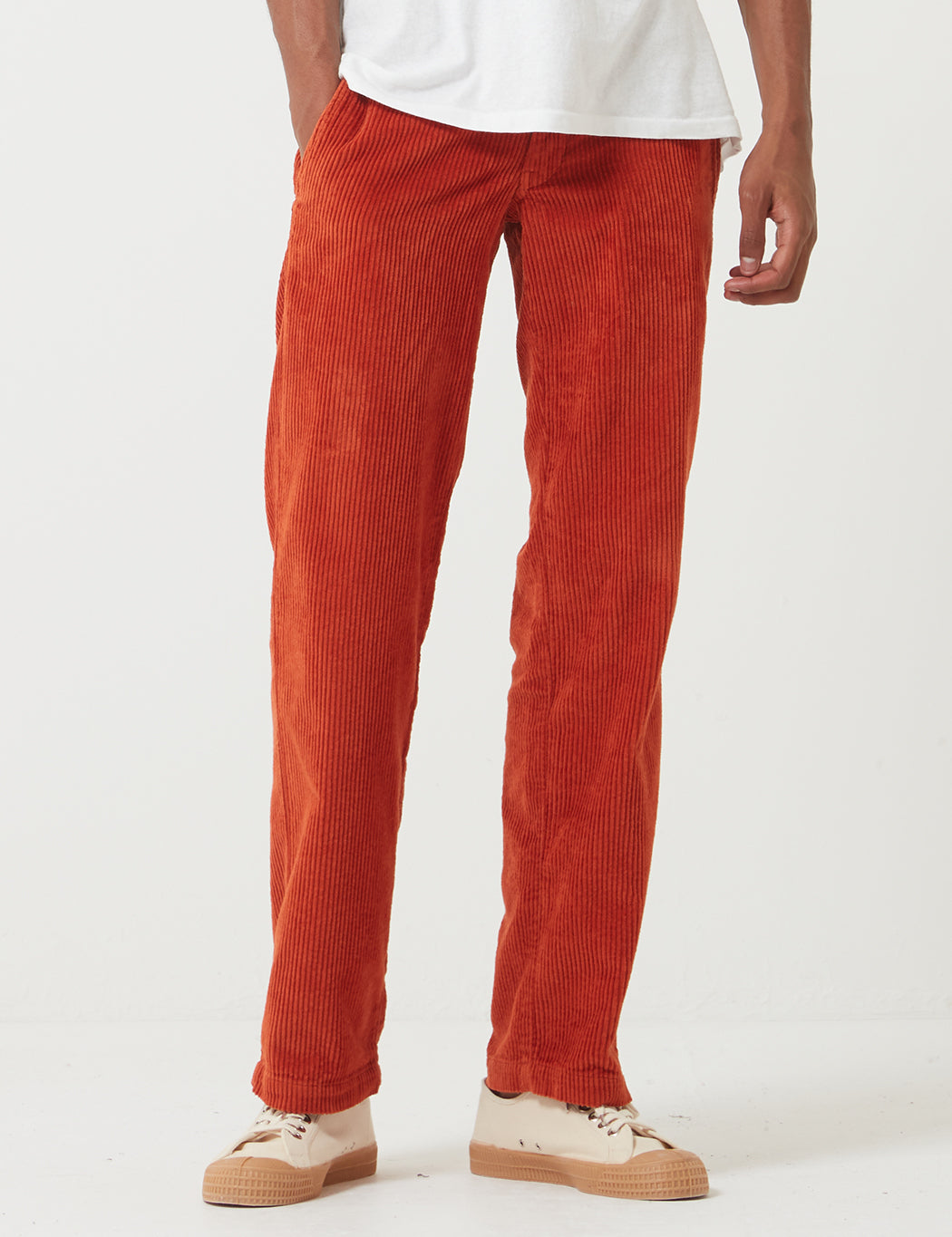 Dickies Cloverport Pant (Cord) - Rust Red