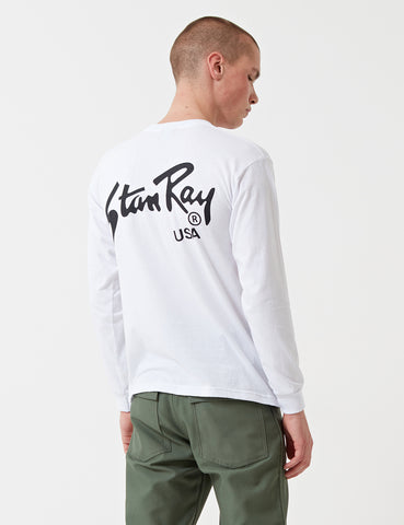 Stan Ray Stan Long Sleeve T-Shirt - White