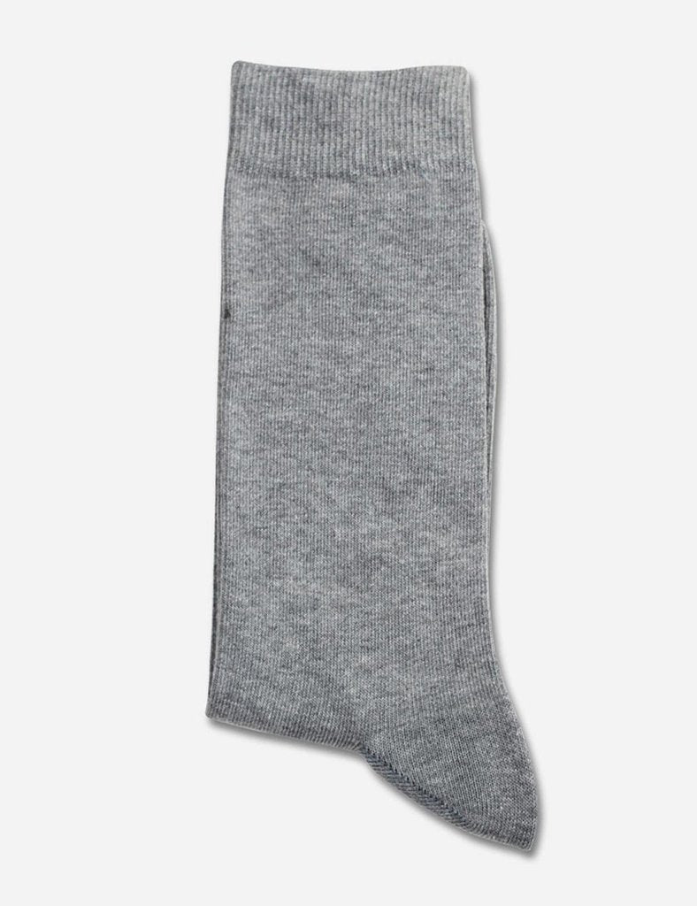 Democratique Solid Socks - Light Grey