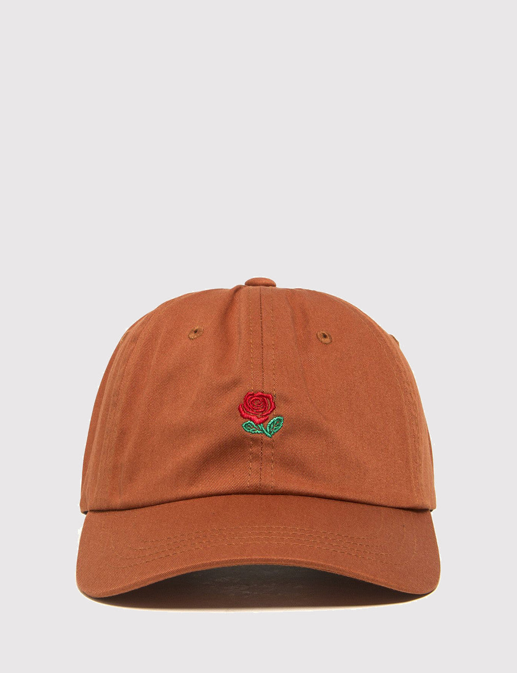 The Hundreds The Rose Curved Peak Cap - Field Tan