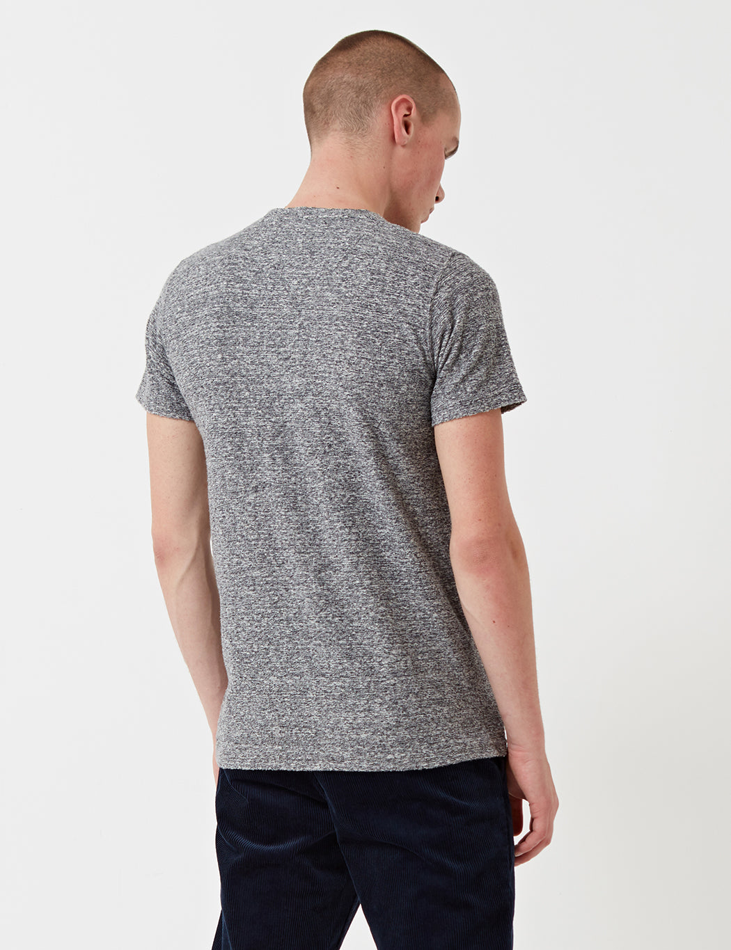 Norse Projects Niels Japanese Pocket T-Shirt - Mouse Grey