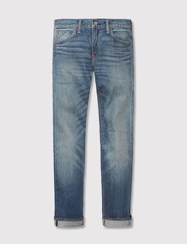 Levis 511 Selvedge Jeans (Slim) - Fender Blue