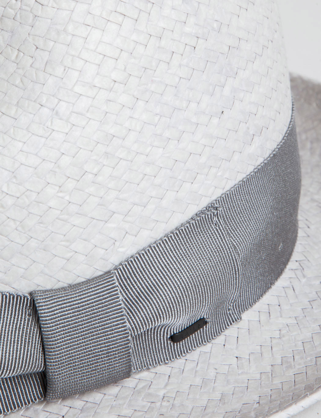 Bailey Lando Straw Triby Hat - Overcast Grey