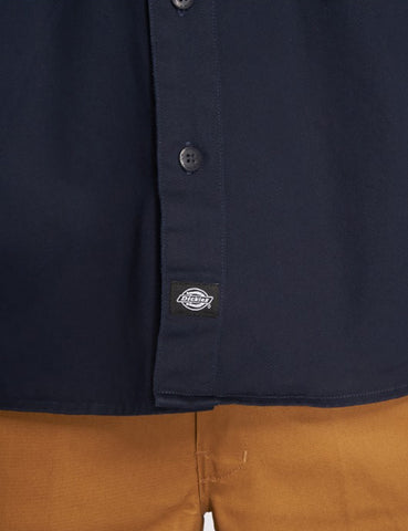 Dickies Nelsonia Shirt - Dark Navy Blue