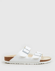Womens Birkenstock Arizona Sandals (Narrow) - White