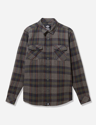 Dickies Wallace Checked Shirt - Dark Navy