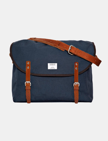 Sandqvist Erik Messenger Bag - Blue
