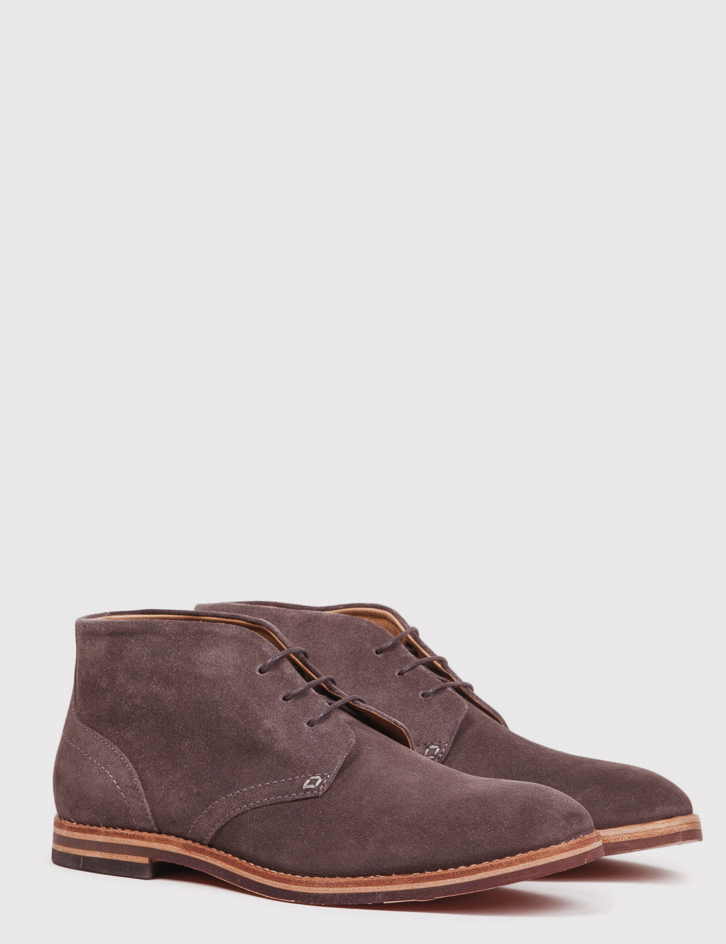 Hudson Houghton 3 Suede Boots - Brown