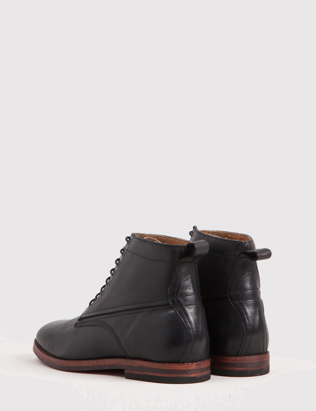 Hudson Forge Leather Boot - Black